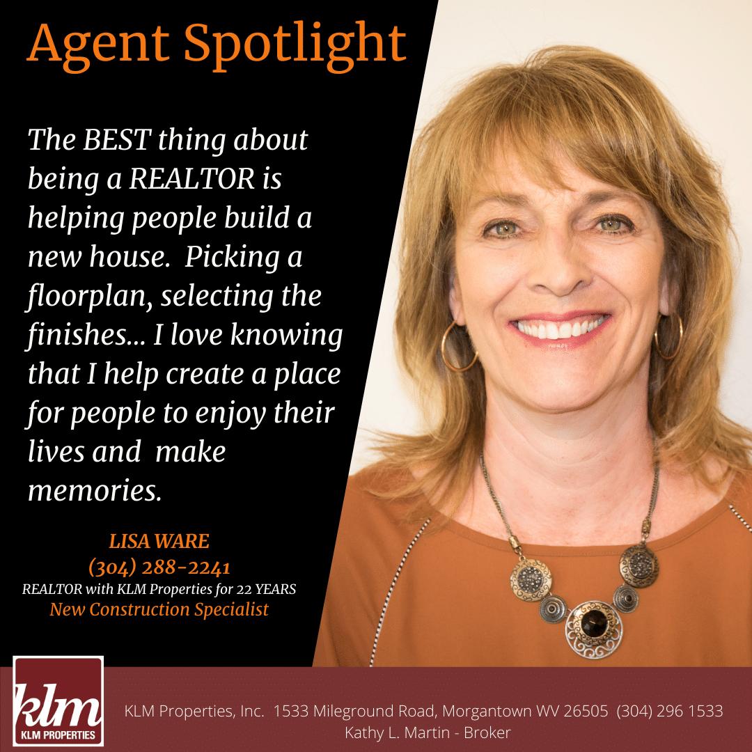 Agent Spotlight, Lisa Ware